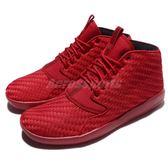 【五折特賣】Nike 慢跑鞋 Jordan Eclipse Chukka 紅 全紅 編織 喬丹 運動鞋 男鞋【PUMP306】 881453-601