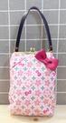 【震撼精品百貨】Hello Kitty 凱蒂貓~Hello Kitty日本SANRIO三麗鷗KITTY化妝包/筆袋-櫻花附提袋*24695