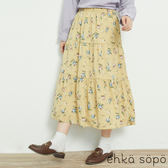 ❖ Spring ❖ 滿板碎花鬆緊腰設計長裙 (提醒➯SM2僅單一尺寸) - Sm2