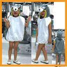 可愛動物服裝-大野狼 萬聖節聖誕節服裝造型服化妝舞會派對表演服道具服