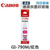 CANON GI-790M / GI790M 原廠紅色墨水 /適用Canon PIXMA G1000/G2002/G3000/G4000
