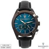 【台南 時代鐘錶 MASERATI】台灣公司貨 瑪莎拉蒂 Traguardo系列 R8871612008 計時腕錶