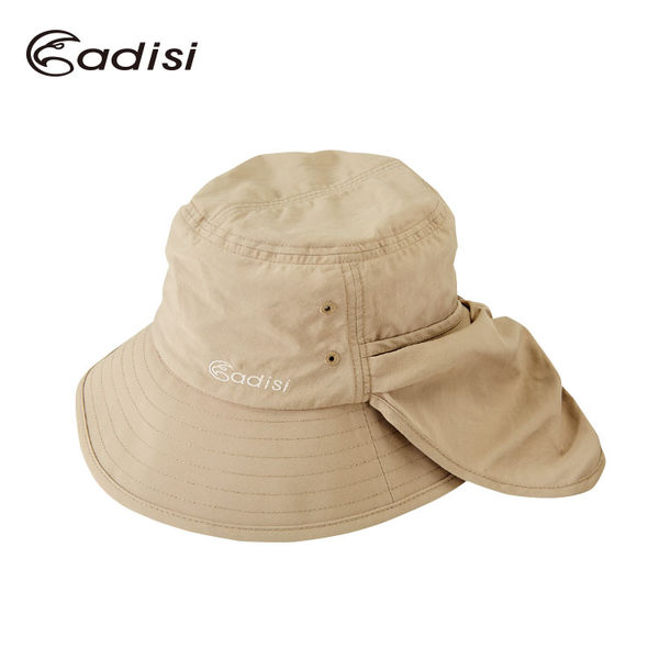 ADISI Supplex抗UV護頸蝴蝶帽 AS16039 / 城市綠洲 (UPF40+.防曬.防紫外線.機能帽.吸濕快乾透氣)