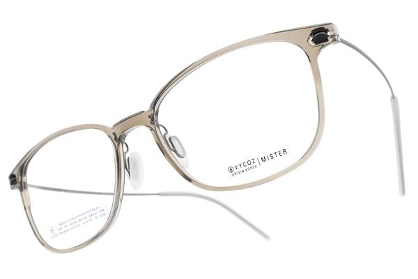 VYCOZ 光學眼鏡 MISTER GRY (透灰-槍) 植粹環保簡約鏡框 # 金橘眼鏡