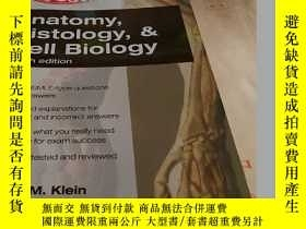 二手書博民逛書店Anatomy,罕見Histology, Cell Biology: Pretest Self-assessmen