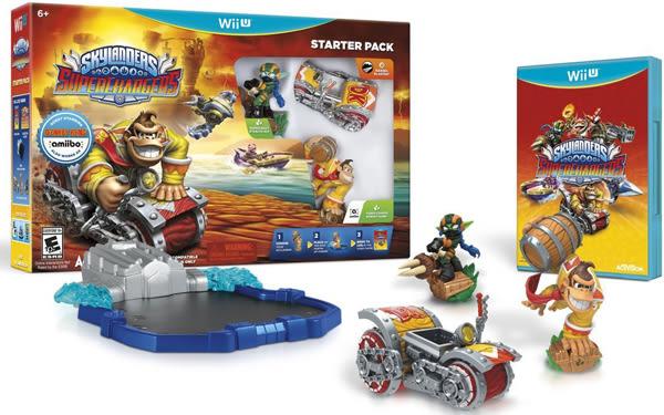 WiiU Skylanders SuperChargers Starter Pack 寶貝龍冒險:超級增壓器 入門包(美版代購)