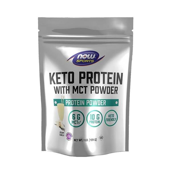【NOW】MCT機能蛋白粉香草口味 Keto Protein w MCT Powder Creamy Vanilla