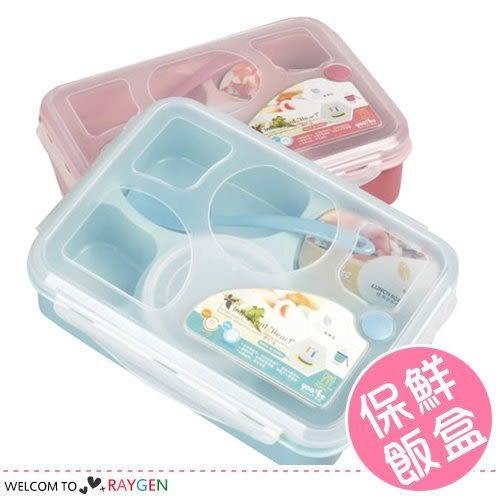 微波便當盒分格密封保鮮餐盒 五格+1湯碗