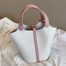 手提包 KISS ME上新包包女包2020新款潮休閒時尚手提包百搭ins洋氣水桶包