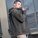 衝鋒衣 騎行衣衝鋒衣戰術保暖衣防風防雨多口袋軟殼衣三層復合搖粒絨面料