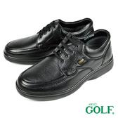 【GOLF】手工氣墊舒適德比鞋 黑色(GF2515-BL)