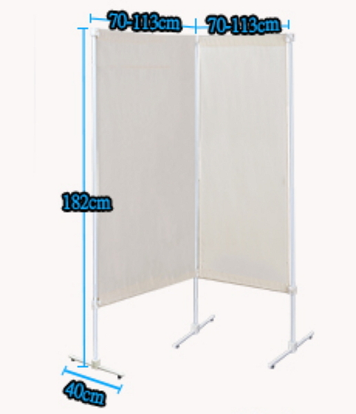 【中華批發網DIY家具】隔間王AI70(擴充一組)伸縮屏風架 ※可規劃辦公室隔間屏風