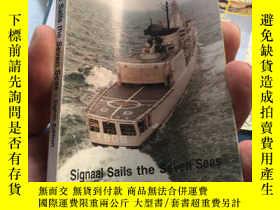 二手書博民逛書店SIGNAAL罕見SAILS THE SEVEN SEAS132