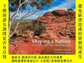 二手書博民逛書店Shaping罕見a Nation A GEOLOGY OF A