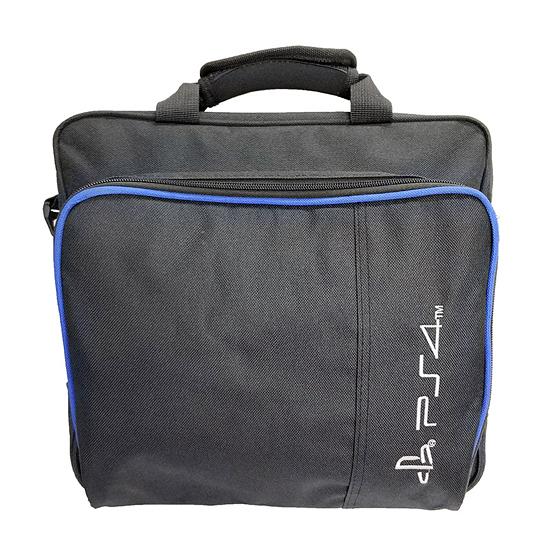 [哈GAME族]滿399免運費 可刷卡●防塵抗摔保護●SONY PS4 主機收納包 單肩背包 手提外出包