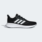 ADIDAS RUNFALCON [F36218] 女鞋 運動 慢跑 休閒 緩震 舒適 健身 輕量 愛迪達 黑白