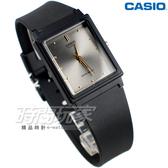 CASIO卡西歐 MQ-38-8A 撞色簡約方錶 橡膠錶帶 黑x灰色 MQ-38-8ADF 防水手錶 指針錶 兒童錶 女錶