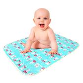 漏尿墊戒尿布隔尿墊看護墊生理墊 竹纖維三層防水產褥墊(50*70)-321寶貝屋