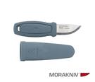 丹大戶外用品【MORAKNIV】瑞典Eldris LightDuty 不鏽鋼短直刀 莫蘭迪海洋藍 13851