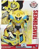 變形金剛領袖的挑戰卡通超速變形戰將組-大黃蜂BUMBLEBEE 57354