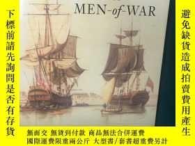 二手書博民逛書店The罕見Boats of Men of War【戰士之船】【大