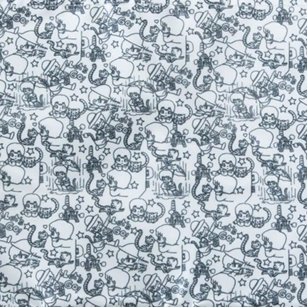 「Takeru與貓」收納包<WHITE>