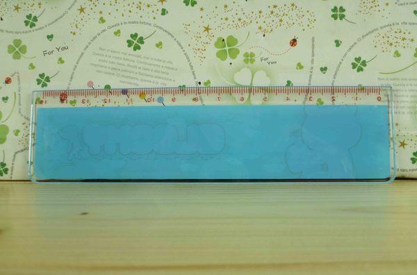 【震撼精品百貨】暴力熊~15cm尺~藍