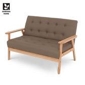♥多瓦娜 美閣兒DIY雙人沙發/棕色-皮面-Link-NewS-001-2P-BR均一價3688