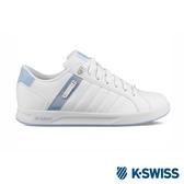 【K-SWISS】Lundahl WT S休閒運動鞋-女-白/粉藍(92533-147)