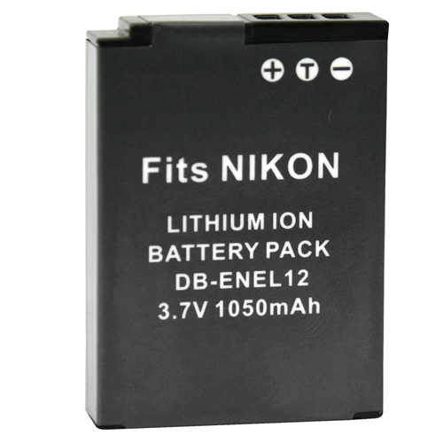 Kamera Nikon EN-EL12 高品質鋰電池 S9400 S9500 S9600 S9700 S9900 S31 保固1年 ENEL12 可加購 充電器