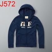 AF Abercrombie & Fitch A&F A & F 男 網路限定款 帽T外套 AF J572