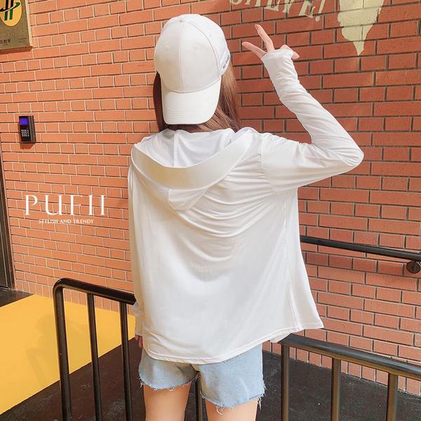 限量現貨◆PUFII-外套 涼感透氣防曬連帽外套-0616 現+預 夏【CP18713】