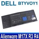 戴爾 DELL BTYV0Y1 9芯 . 電池 5WP5W 7XC9N BTYVOY1 C0C5M Alienware M17X R3 R4 Alienware MX 17xR3 17xR4