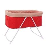 嬰兒床兒童床可摺疊搖籃床
