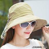 太陽帽女防曬戶外夏天韓