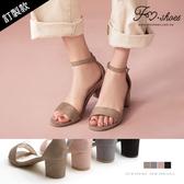 涼鞋.一字踝釦高跟涼鞋-FM時尚美鞋-訂製款.Hope