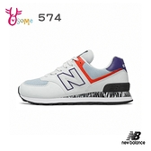 New Balance運動鞋 女鞋 574 復古運動鞋 矯正系列 後跟穩定 跑步鞋 慢跑鞋 P8556#白灰◆奧森