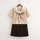 日系JK制服水手服軟妹裙學生裝