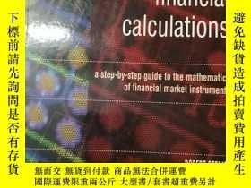 二手書博民逛書店mastering罕見financial calculation