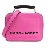 MARC JACOBS M0014508 女士玫粉色牛皮手提單肩盒型撞色斜挎包