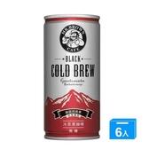M-伯朗冷萃黑咖啡瓜地馬拉200ml*6【愛買】