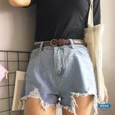 腰帶女復古學生小皮帶簡約uzzlang銅扣韓國bf風細腰帶chic女士牛仔褲帶