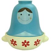 日本原裝SUN ART TEA FOR TWO俄羅斯娃娃砂鍋常滑燒-san1865