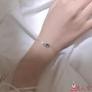 手鍊 手環韓版閨蜜飾品女銀宇宙星空星球簡約個性設計感小眾學生【美人季】