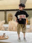 兒童T恤男童polo衫短袖2020夏季新款寬鬆兒童翻領t恤韓版洋氣中大童夏裝 小天使
