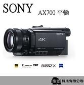 SONY FDR-AX700 4K 高畫質數位攝影機【平輸 保固1年】WW