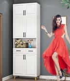 北歐鞋櫃家用大容量進門口玄關櫃簡約經濟型現代門廳櫃陽台儲物櫃QM 依凡卡時尚