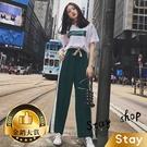 【Stay】韓版休閒墨綠運動套裝 套裝 ...