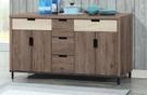【南洋風休閒傢俱】餐櫃系列- 水上飄5尺餐櫃 碗碟櫃 櫥櫃 碗盤櫃 收納櫃 置物櫃 CX837-1