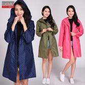 日系雨衣女成人 防水韓版時尚徒步風衣薄款全身連體登山水衣個性